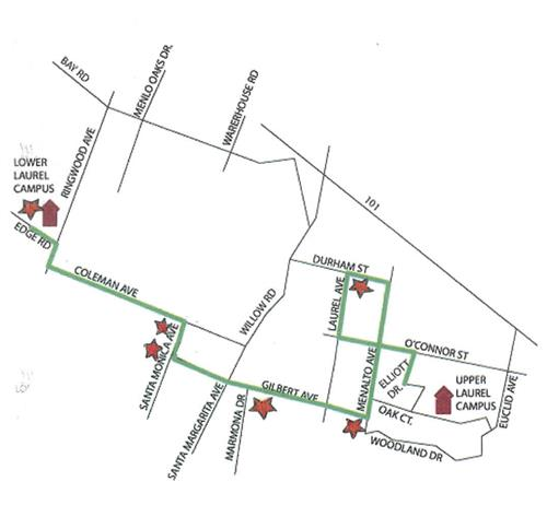 Transportation / Lower Laurel Afternoon Bus Route