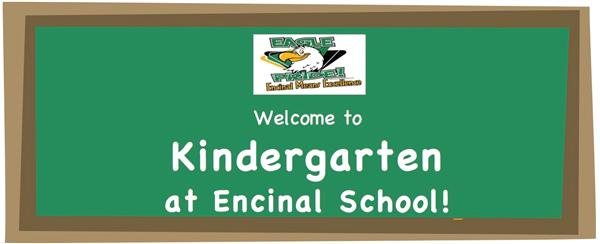 Welcome to Kindergarten at Encinal School!